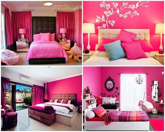 cor de rosa ~ Quarto Rosa Fucsia